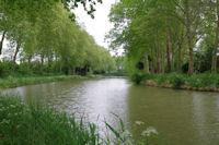 Le Canal du Midi vers le Petit St Simeon