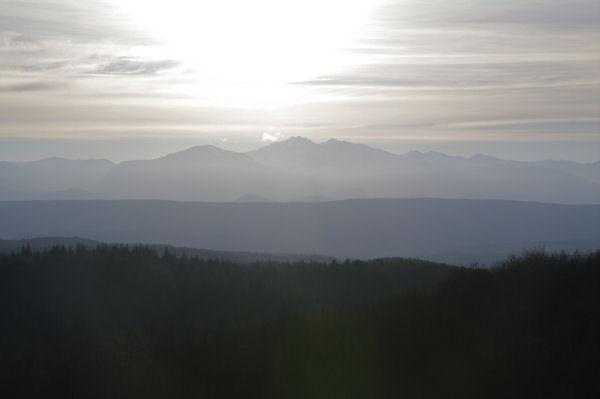 Le Pic de St Barthelémy et le Pic de Soularac depuis Roques