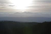Le Pic de St Barthelemy et le Pic de Soularac depuis Roques