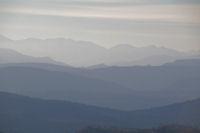Les Pyrenees ariegeoises depuis Roques