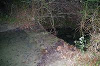 Passage a gue sur le ruisseau de Limoux