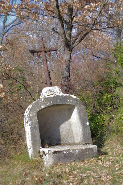 Sur le chemin de la Chapelle du Calvaire