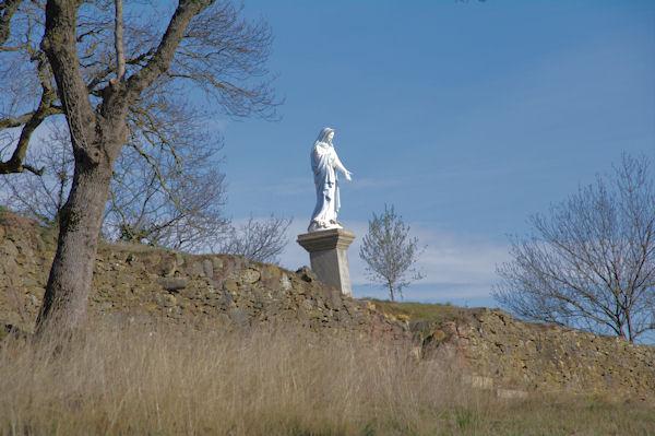 La vierge de la Chapelle du Calvaire