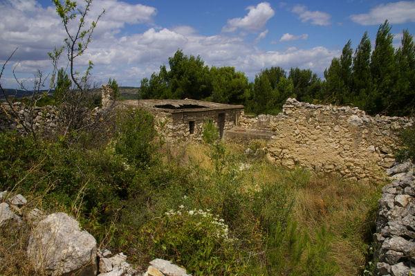Les ruines de Trières