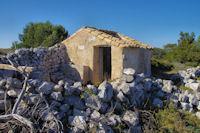 Maisonnette en ruine sur l'Ile St Martin