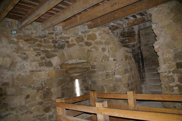 La Tour Régine, de l'intérieur