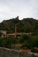 La Tour Quertineux depuis le village de Lastours