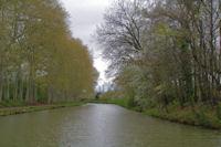 Le Canal du Midi pres de Castelnaudary