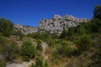 Les falaises de la Clape