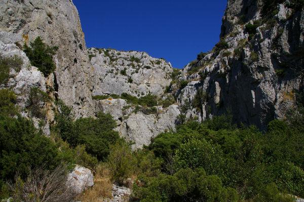 La vallée sèche du ruisseau des Figuières
