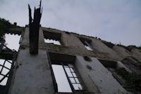 Les anciennes usines Nizet en ruine…