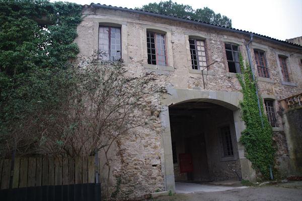 Les anciennes usines Nizet à Montolieu