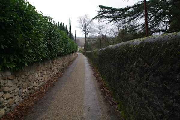 Une ruelle dans Montolieu