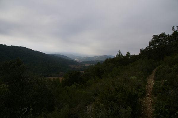 La vallée du Madourneille en montant à Clamendaigues