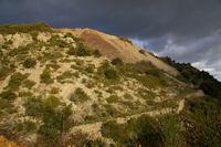Une ancienne mine de Manganese
