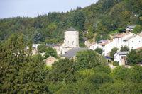 Vue de Pradelles Cabardes depuis le GR36