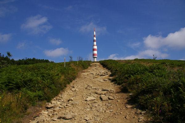 La montée finale au Pic de Nore