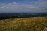 Vue de Pradelles Cabardes depuis le Pic de Nore