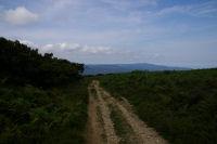 Le chemin vers le Roc du Couillou