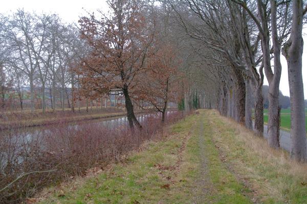Le Canal du Midi vers En Gaubel