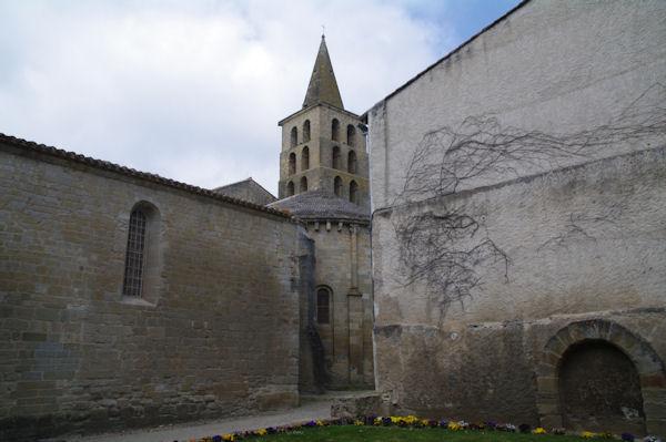 Le monastère de St Papoul
