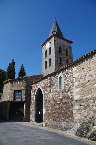L_église de Verdun en Lauragais