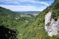 Le vallon du Blau, le Saut de la Bourrique