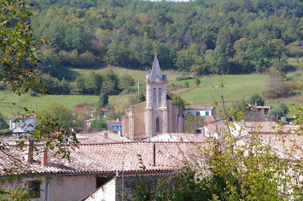 L_église de Puivert
