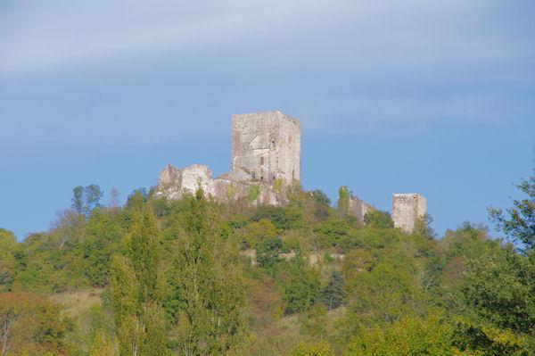 Le château de Puivert