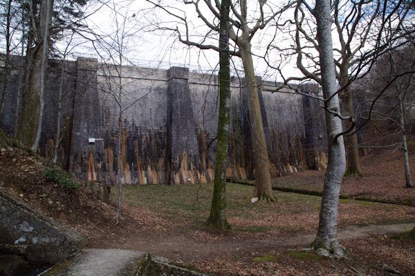 Le barrage du Lampy Neuf