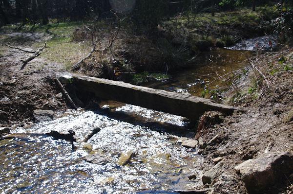 Le passage du ruisseau de Bergnassonne