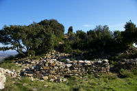 Les ruines du Chateau de St Pierre