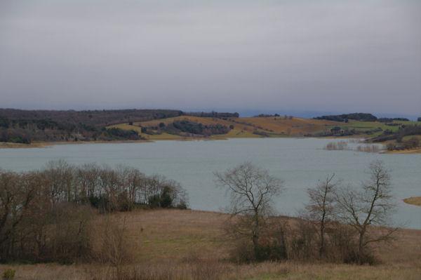 Le Lac de la Ganguise (Retenue de l_Estrade)