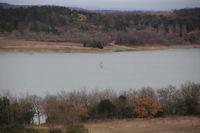 Veliplanchiste au lac de la Ganguise