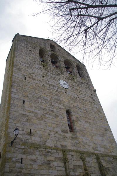 L_église de St Michel de Lanès
