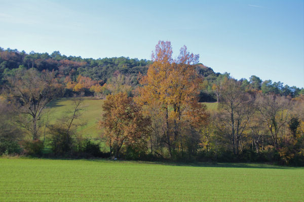 Les Brugues en automne