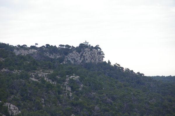 La Tour de Surveillance Incendie à La Vigie depusi le Plateau de Notre Dame