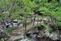 Passage sur le ruisseau du Soumal