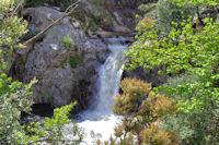 La cascade du Gouffre du Cerisier