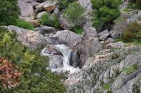 Le ruisseau d'Heric vers la passerelle des Soupirs