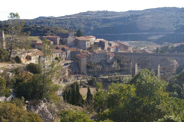 Le joli village de Minerve