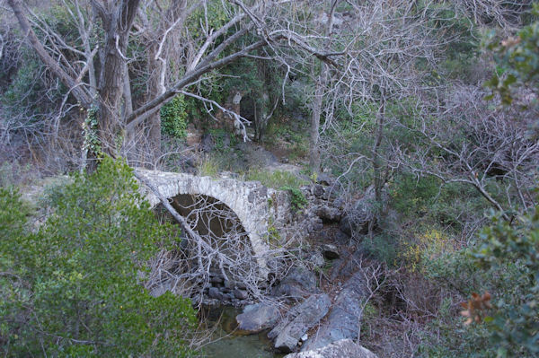 Le pont du Moulin sur le Briant