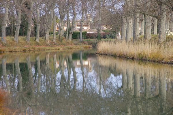 Le Canal du Midi vers Mailhac