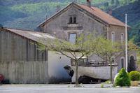 L'ancienne gare de St Etienne d'Albagnan