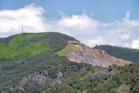 La carrière de Marbre au dessus de St Pons de Thomières