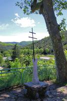 Croix de la Résistance à St Pons de Thomières