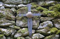 Sur le mur de la jasse dal Baccut