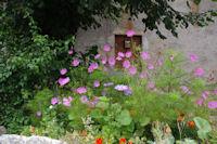 Parterre fleuri a Cas