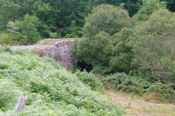 Petit pont sur le ruisseau de Cas