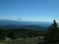 Vue a l&#39Est depuis le Mt Aigoual